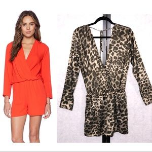 Three Eighty Two Carter Long Sleeve Romper XS